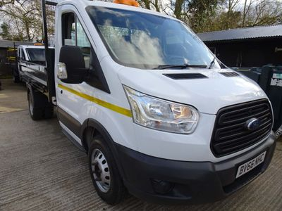 Ford Transit Tipper 2.2 DRW. 125bhp. S/Cab. One way Tipper.