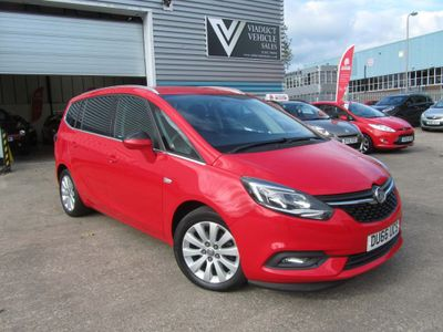 Vauxhall Zafira Tourer MPV 1.4i Turbo Energy Tourer 5dr
