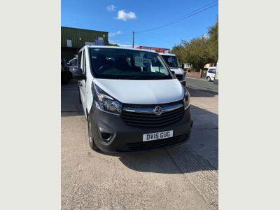 Vauxhall Vivaro Other 1.6 CDTi 2900 L2 H1 EU5 5dr (9 Seat)