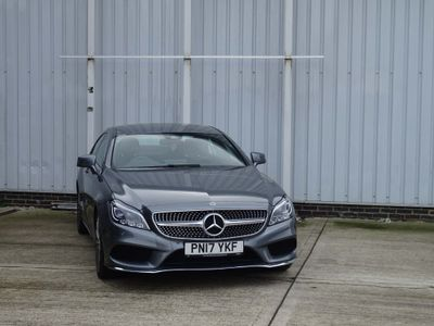 Mercedes-Benz CLS Coupe 3.0 CLS350d V6 AMG Line G-Tronic+ (s/s) 4dr