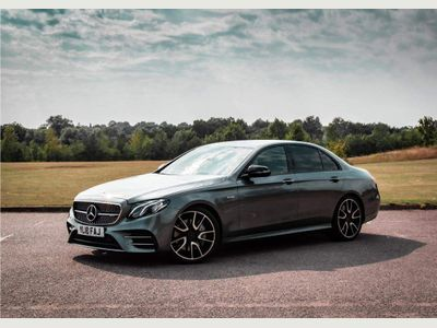 Mercedes-Benz E Class Saloon 3.0 E43 V6 AMG G-Tronic+ 4MATIC (s/s) 4dr