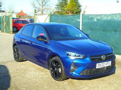 Vauxhall Corsa Hatchback 1.2 Turbo SRi Nav Premium (s/s) 5dr