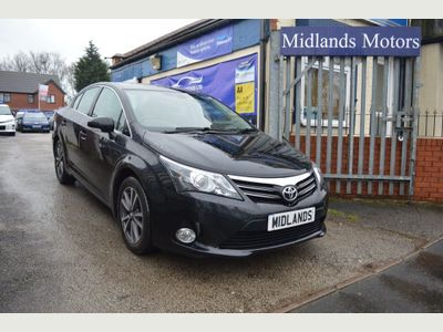 Toyota Avensis Saloon 1.8 V-Matic Icon Business Edition 4dr