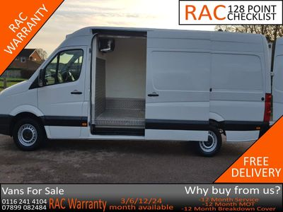 Volkswagen Crafter Temperature Controlled 2.0 TDI CR35 LWB Refrigerated Van 4dr (LWB)