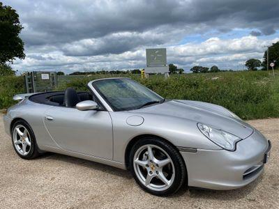 Porsche 911 Convertible 3.6 996 Carrera 4 Cabriolet AWD 2dr