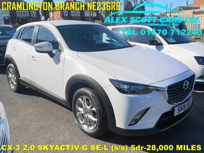Mazda CX-3 SUV 2.0 SKYACTIV-G SE-L (s/s) 5dr