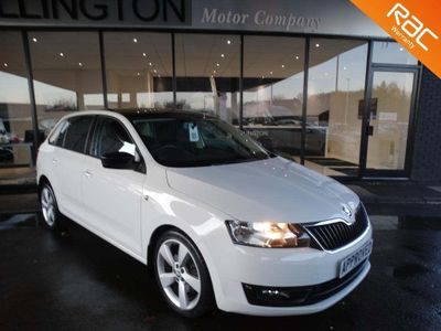 SKODA Rapid Spaceback Hatchback 1.6 TDI CR SE Sport Spaceback DSG 5dr