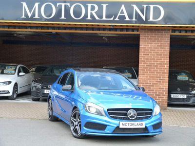 Mercedes-Benz A Class Hatchback 1.8 A180 CDI BlueEFFICIENCY AMG Sport 7G-DCT 5dr
