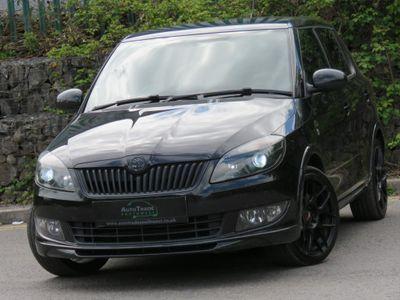 SKODA Fabia Hatchback 1.2 TSI Monte Carlo Tech Black Edition 5dr