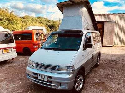 Mazda BONGO AFT 4 BERTH FULL REAR KITCHEN 2.5 TD Motorhome 66k 5 SEATER AUTOMATIC