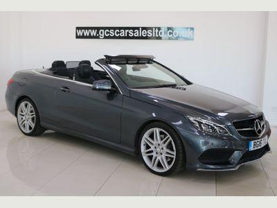 Mercedes-Benz E Class Convertible 3.0 E350d AMG Line Edition Cabriolet 9G-Tronic (s/s) 2dr