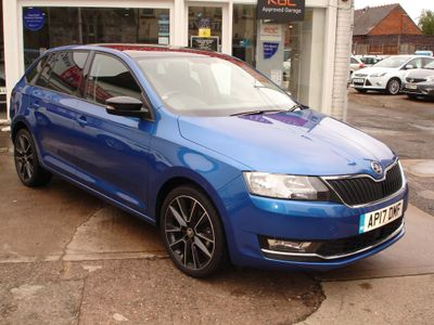 SKODA Rapid Spaceback Hatchback 1.0 TSI SE Sport Spaceback (s/s) 5dr