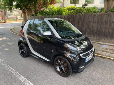 Smart fortwo Convertible 1.0 Grandstyle Plus Cabriolet Softouch 2dr