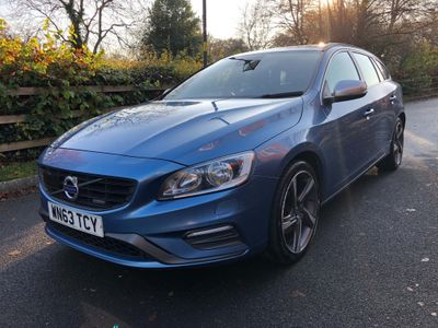 Volvo V60 Estate 2.0 D3 R-Design Nav Geartronic (s/s) 5dr