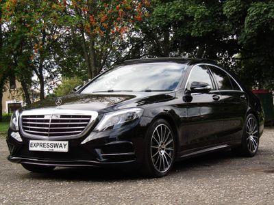 Mercedes-Benz S Class Saloon 3.0 S350d AMG Line (Premium) 9G-Tronic Plus 4dr