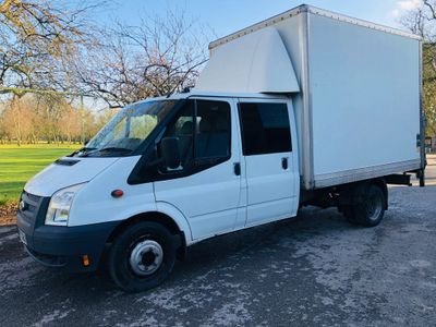Ford Transit Chassis Cab 2.2 TDCi 350 Double Cab Chassis RWD EF 4dr (EU5, Extended Frame, DRW)