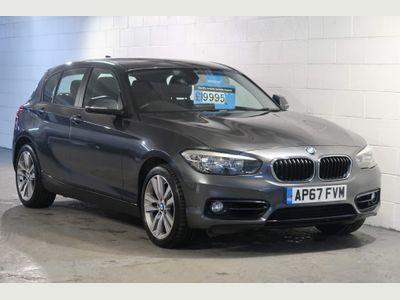 BMW 1 Series Hatchback 2.0 118d Sport Sports Hatch Auto (s/s) 5dr
