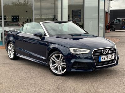 Audi A3 Cabriolet Convertible 1.5 TFSI CoD 35 S line Cabriolet S Tronic (s/s) 2dr