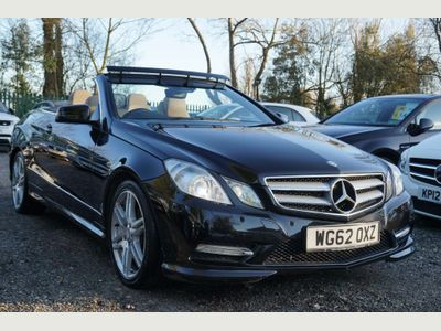 Mercedes-Benz E Class Convertible 3.0 E350 CDI BlueEFFICIENCY Sport Cabriolet G-Tronic 2dr