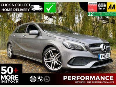 Mercedes-Benz A Class Hatchback 1.6 A200 AMG Line (Premium) (s/s) 5dr