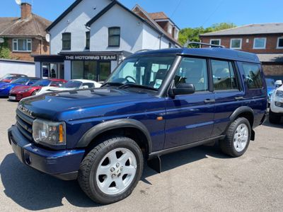 Land Rover Discovery SUV 2.5 TD5 ES 5dr (5 Seats)