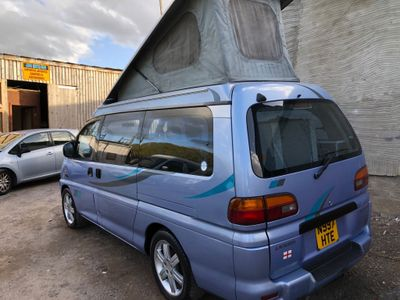 Mitsubishi DELICA POP TOP 4 BERTH NEW CAMPER CONVERSION Campervan 5 SEATER DIESEL AUTOMATIC