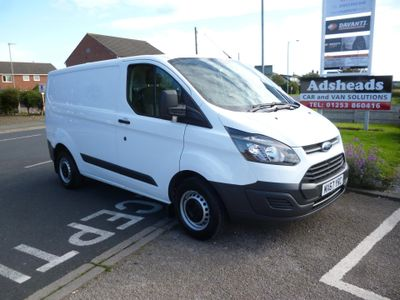 FORD TRANSIT CUSTOM Unlisted 2.0 TDCi 290 L1H1 Panel Van FWD 5dr
