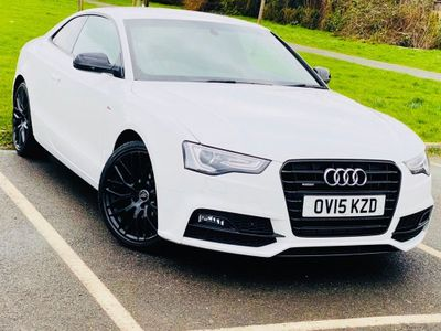 Audi A5 Coupe 2.0 TFSI Black Edition Plus S Tronic quattro 2dr