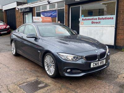BMW 4 Series Coupe 3.0 430d Luxury Auto (s/s) 2dr