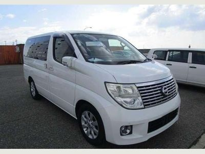 Nissan Elgrand Unlisted E51 CAMERA. RECLINER SEATS LOW MILEAGE