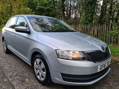 SKODA Rapid Spaceback Hatchback 1.4 TDI S Spaceback (s/s) 5dr