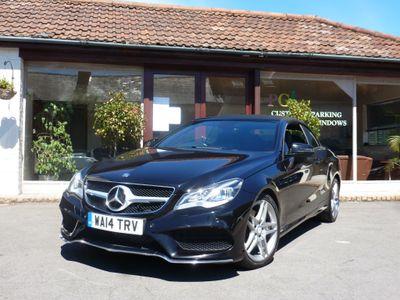 Mercedes-Benz E Class Convertible 3.0 E350 CDI BlueTEC AMG Sport Cabriolet 7G-Tronic Plus 2dr