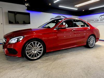 Mercedes-Benz C Class Saloon 2.0 C200 AMG Line 7G-Tronic+ (s/s) 4dr