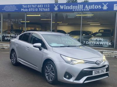 Toyota Avensis Saloon 1.8 V-matic Business Edition Plus CVT 4dr