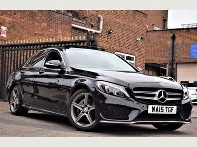 Mercedes-Benz C Class Saloon 2.0 C200 AMG Line (Premium Plus) 7G-Tronic+ (s/s) 4dr