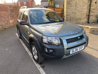 Land Rover Freelander Convertible 2.0 TD4 Adventurer Soft Top 3dr