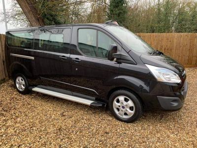 Ford Tourneo Custom Minibus 2.2 TDCI 300 LTD, E-TECH HACKNEY CAB
