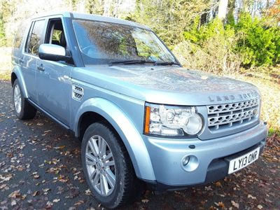 Land Rover Discovery 4 Panel Van 3.0 SD V6 Panel Van 5dr Diesel Automatic 4X4 (230 g/km, 255 bhp)