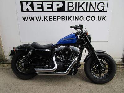 Harley-Davidson Sportster Custom Cruiser 1200 XL X Sportster Forty Eight