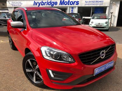 Volvo XC60 SUV 2.4 D4 R-Design Lux Nav Geartronic AWD (s/s) 5dr