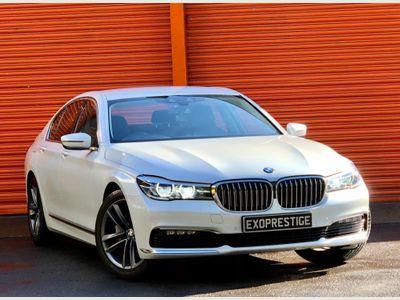 BMW 7 Series Saloon 3.0 740d Auto xDrive (s/s) 4dr