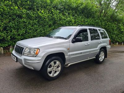 Jeep Grand Cherokee SUV 4.7 Overland 4WD 5dr
