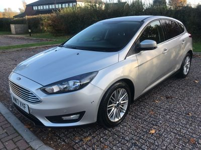 Ford Focus Hatchback 1.5 TDCi Zetec Edition Powershift (s/s) 5dr