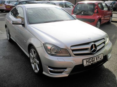 Mercedes-Benz C Class Coupe 2.1 C250 CDI BlueEFFICIENCY AMG Sport Edition 125 7G-Tronic 2dr