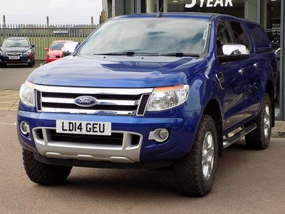 Ford Ranger Pickup 2.2 TDCi Limited Double Cab Pickup 4x4 4dr (EU5)