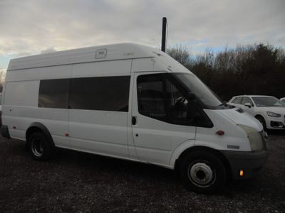 Ford Transit Panel Van 2.4 TDCi 460 Duratorq High Roof Van DRW 3dr