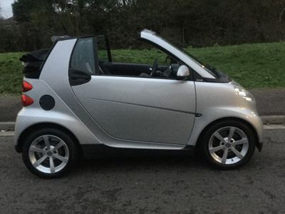 Smart fortwo Convertible 0.8 CDI Pulse Cabriolet 2dr