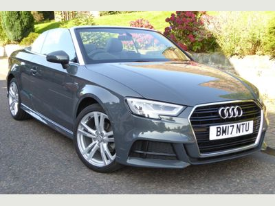 Audi A3 Cabriolet Convertible 1.5 TFSI CoD S line Cabriolet (s/s) 2dr