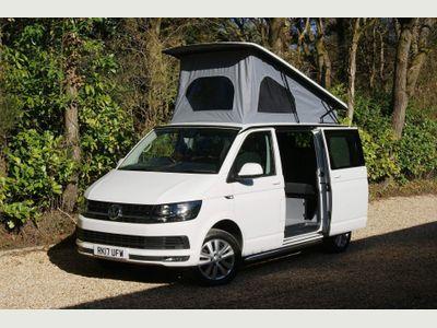 Volkswagen Transporter Campervan T6 TDi 102 SWB 4 Berth 4 Seat Pop Top Campervan