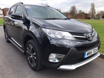 Toyota RAV4 SUV 2.0 V-Matic Invincible M-Drive S 4WD (s/s) 5dr